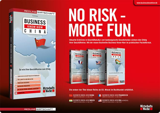 Business Know-how Anzeige (Kooperation Redline Wirtschaft und Wirtschaftswoche)