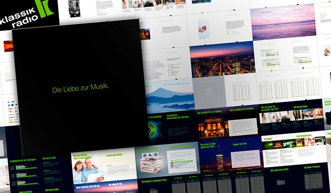 Klassik Radio Image Broschüre / Mediadaten